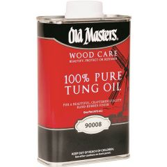 Old Master Wood Stains Pure Tung Oil