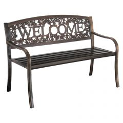 Leigh Country  Metal Bench