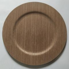 Heim Wood Veneer Charger Plate Charger Plate
