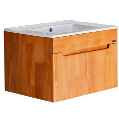 Pozzi Solid Wood Series Vanity Wall Hung Cabinet